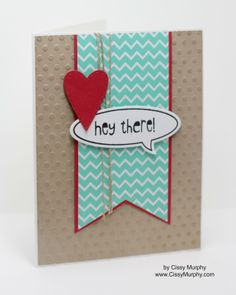 Stampin' Up! Fresh Prints, Word Bubbles