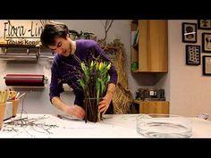 Frühlingsdekoration selber machen. Hyazinthe ausgarnieren - YouTube