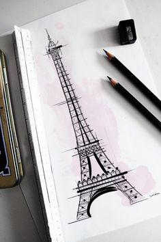 Paris-inspired masterpiece! #EiffelTower