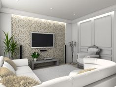 Come on, take a look in the following 15 incredible TV wall unit with LED lighting that look like a little paradise!!!