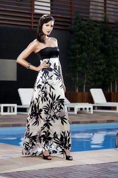 Alquiler de vestidos de noche elegantes