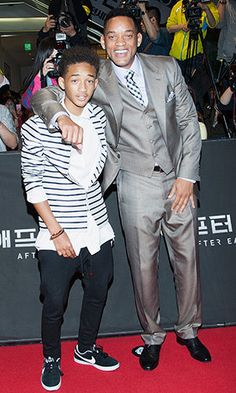 """Jaden Smith with dad Will Smith (Han Myung-Gu/WireImage)Will Smithand his multi-talented son dropped byEllen DeGeneres's talk show on Wednesday to promote their new sci-fi flick """"After Earth,"""" and Will took the chance to clear up some talk about Jaden flying the coop.Turns out a misinterpreted quot"""