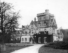 Moy Hall, near Inverness. Moy has been the home of the Clan Mackintosh chiefs since the fourteenth century.