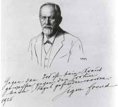 Under his portrait drawn in pen and ink by Robert Kastor in1925, for inclusion in a book on the greats of the world, Sigmund Freud wrote: There is no medicine against death, and against error no rule has been found.