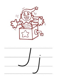 A simple A4 alphabet display in Victorian Modern Cursive with pictures.  There are four sets to choose from: 1. Coloured, no lines 2. Coloured, with ruled thirds lines 3. Black, no lines 4. Black, with ruled thirds lines