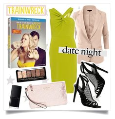"""""""Date Night, Trainwreck Style"""" by alaria ❤ liked on Polyvore featuring LE3NO, Forever Unique, Kate Spade, ALDO, NARS Cosmetics, DateNight and trainwreck"""