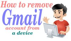 How to remove #Gmail account from a device