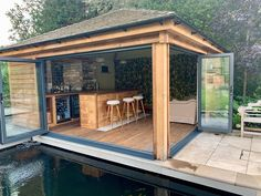 Man Caves and Garden Retreats - Roger Gladwell Timber Frame Construction
