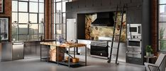 Hestan now offers a full line of high-end kitchen appliances for those looking for performance above other brands. The French Laundry, High End Kitchens, Restaurant Kitchen, Fun Cooking, Napa Valley, Innovation Design, Minimalism, New Homes, Kitchen Appliances