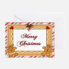 boxed gingerbread man christmas cards | Gingerbread Man Greeting Cards | Card Ideas, Sayings, Designs ...