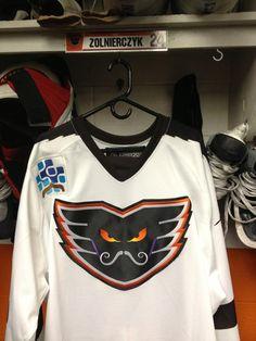 Adirondack Phantoms Movember jersey