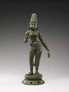 Indian, Parvati, 11th Century, Bronze.
