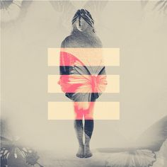 faded photography, graphic, symbol, triple-equal, collage