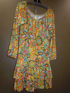 Retro Floral Print Dress. SO FUN!! $112