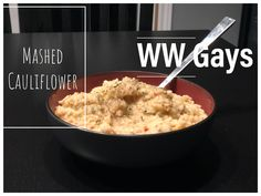 When we need a side that's low on points, we turn to this excellent mashed potato substitute. Weight Watchers Diet, Whipped Cream Cheese, Roasted Red Peppers, Roasted Garlic, Mashed Potatoes, Macaroni And Cheese, Spices, Stuffed Peppers