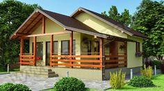Proiecte de case mici din osb - eficienta pe bani mai putini