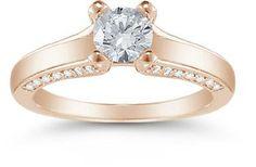 http://shineonyourdiamond.blogspot.com/ 1 Carat Engagement Rings Vintage Rose Gold 36