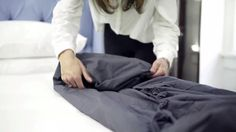 The Right Way to Fold a Fitted Sheet