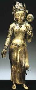 14th-cir-nepal-tara-painted-gilt-cop-stones-va.jpg (120×294)