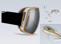 Scott Eyewear by Jacknife, via Behance