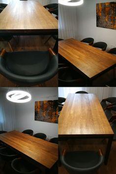 Stół Industrialny, stół do jadalni, stół do pokoju dziennego, stół loft Kitchen, Home, Cooking, Kitchens, Cuisine, Haus, Homes, Houses, At Home