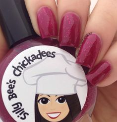 Lacquer: The Best Medicine!: Silly Bee's Chickadees | Raspberry Rhubarb Pie