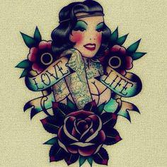 LOVE LIFE Tattoo Flash   KYSA #ink #design #tattoo
