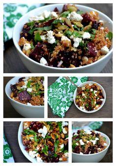 Bakeaholic Mama: Roasted Beet and Quinoa Salad