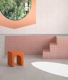 Marcante Testa UdA Ceramica Vogue House of Tiles - Terzo Piano Conceptual Architecture, Concrete Architecture, Amazing Architecture, Hotel Lobby Design, Lobby Interior, Tile Projects, Interior Decorating, Interior Design, Ceramic Materials