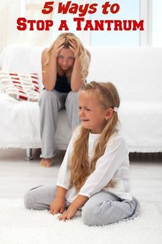 5 Ways to Stop a Tantrum in its Tracks - Tantrums are never a good thing. They…