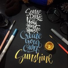 Work by @seandllr #typography #betype #lettering #handlettering...