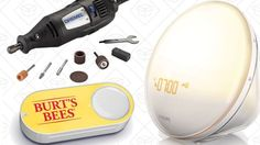 Today's Best Deals: Dremels Dash Buttons Wake-Up Lights and More