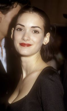 Winona Ryder at the Mermaids Premiere, December 1990