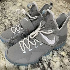"""1ac2e97ad907 Details about Nike Lebron 14 XIV """"Mag"""" 2017 Men s Size 10.5 852405 005 NEW Marty  McFly Future"""
