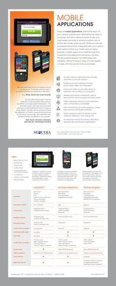 Software Solutions Datasheet - Word & Publisher Template | Print