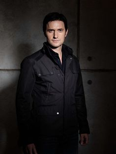 "Richard Armitage as Lucas North in the British TV series ""Spooks MI5"". I love the intensity of his character."
