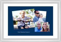 Tilty Gallery of Three Framed Print, White, Classic, White, White, Single piece, 20 x 30 inches