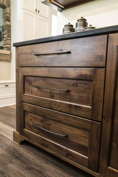 "Hickory Hardware Greenwich 18"" pulls Hickory Hardware, Kitchen Inspiration, Islands, Cabinets, Home Decor, Armoires, Decoration Home, Fitted Wardrobes, Room Decor"