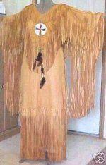 Beaded Ceremonial Buckskin Dance or Wedding Dress