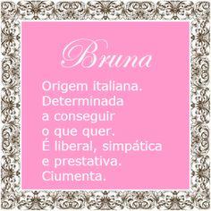 Significado do nome Bruna | Significado dos Nomes