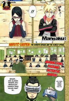 Komik Naruto bahasa Indonesia Episode Hokage ketujuh chapter 701