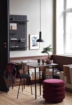 The Home - het show appartement van Ferm Living Dining Room Inspiration, Color Inspiration, Interior Inspiration, Home Office Design, House Design, Interior Styling, Interior Design, Dining Nook, Dining Chairs