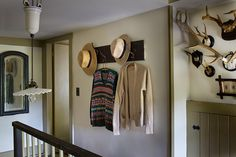 With a clothing designer's eye for texture and romanticism, James Coviello outfits his weekend home in upstate New York London House, Body Electric, Romanticism, Staircases, Hallways, Designers, Stairs, Home, Foyers