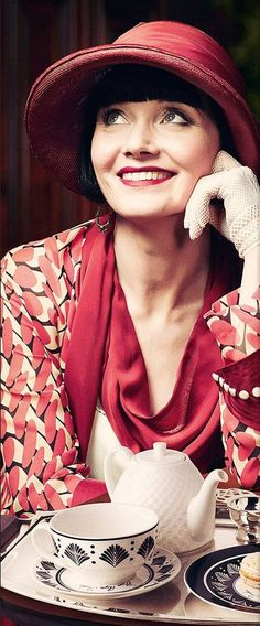 miss fisher - sophisticated palette.
