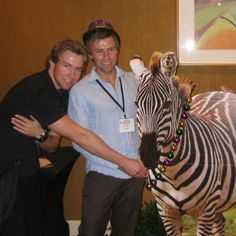 NET Cancer advocates Ivar and Tor-Erik at the National NET Cancer Patient Conference, New Orleans.
