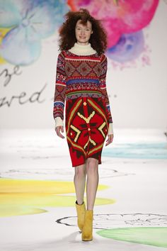 Desigual shows Fall 2015 Collection at Lincoln Center   #desigual #nyfw #model #lavidaeschula #inspiration #style #Fashion #trends #model #runway #colorful #lincolncenter #newyorkcity #nyc #publicrelations