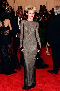 The Met Gala 2013: The Best of the Red Carpet - Miley Cyrus