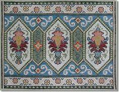 Ivo Ταπετσαρίες Cross Stitch Patterns, Knitting Patterns, Smocking Plates, Tapestry Kits, Palestinian Embroidery, Needlepoint, Needlework, Bohemian Rug, Weaving