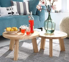 HOME-DZINE | DIY Projects - Make a pine occasional table that also serves as a compact coffee or side table.