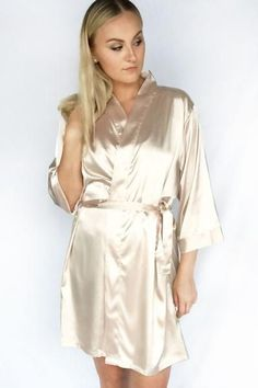 Wrap yourself and the wedding guests with comfy quality bridal robes from AW. Affordable silk wedding bathrobes for brides, bridesmaids, and kids: shop now! Wedding Day Robes, Diy Wedding Reception, Wedding Gowns, Bridesmaid Robes, Silk Satin, Night Gown, Bridal, Dress Shoes, Shoes Heels